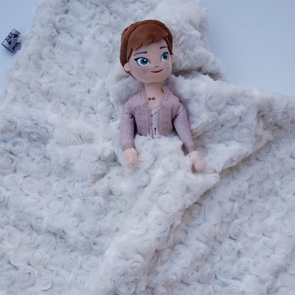 Lovey Frozen 2 Anna Plush Security Blanket for Babies /& Toddlers 19x25